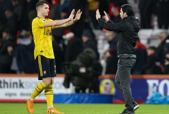 Granit Xhaka 'angry' with Mikel Arteta after talks over Arsenal exit - Bóng Đá