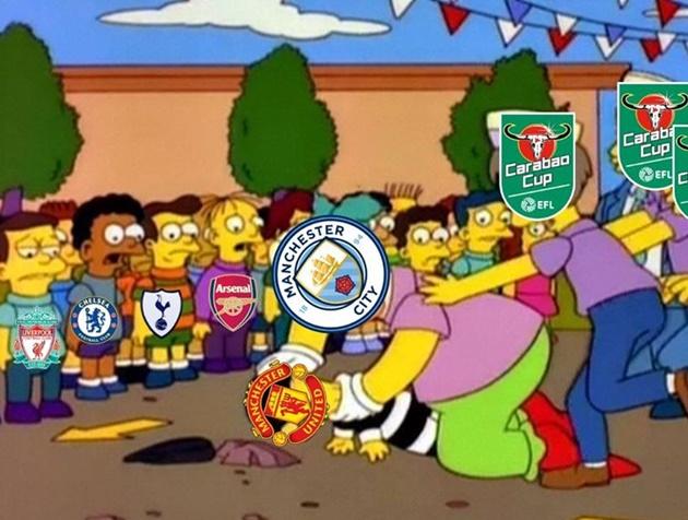 Ảnh chế M.U thua Man City - Bóng Đá