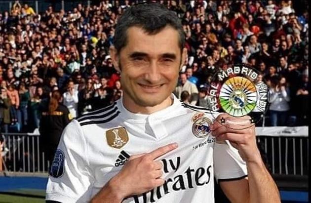 Ảnh chế Valverde bị sút - Bóng Đá