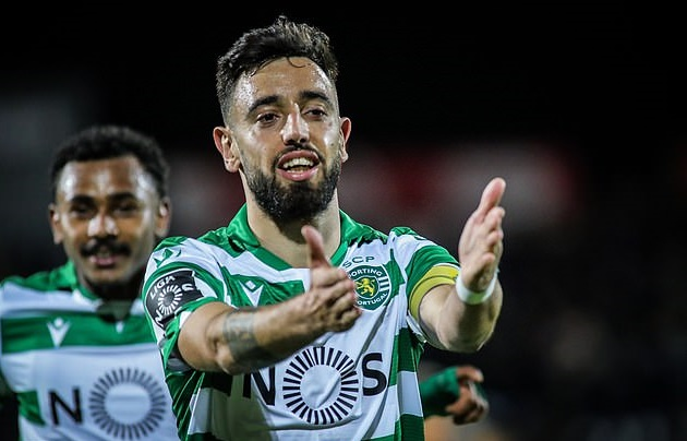 Sporting Lisbon's shares have increased by 5.96% following rumours of Man Utd interest in Bruno Fernandes - Bóng Đá