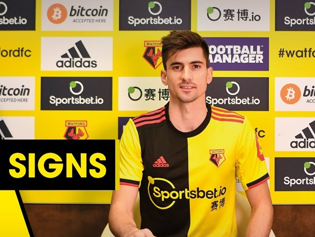 OFFICIAL: Watford signs Ignacio Pussetto  - Bóng Đá