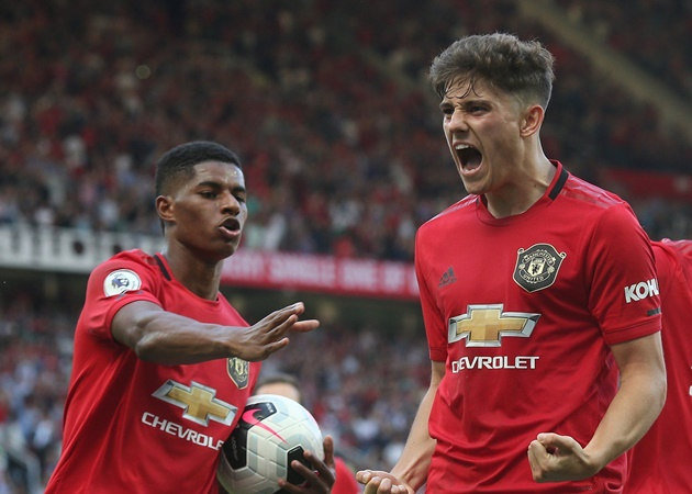Marcus Rashford asked whether he's faster than Manchester United teammate Daniel James - Bóng Đá