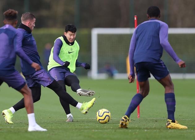 Ảnh Tottenham tập, Gedson Fernandes ra mắt - Bóng Đá