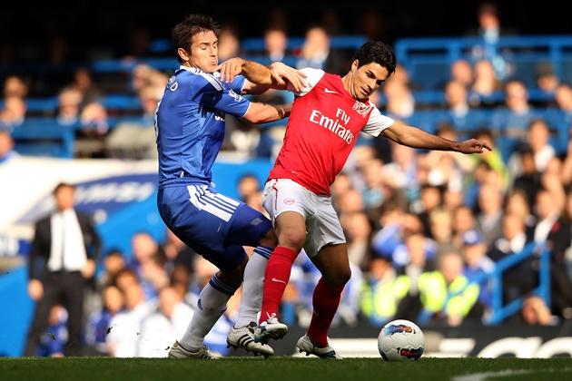 10 thống kê Arsenal - Chelsea - Bóng Đá