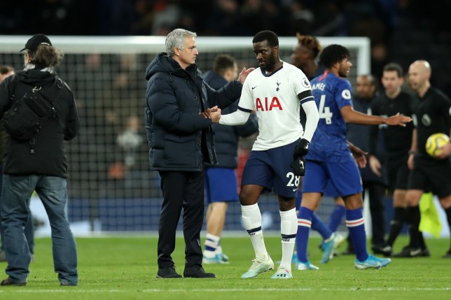 Tanguy Ndombele laughs off speculation he's had bust-up with Tottenham manager Jose Mourinho  - Bóng Đá