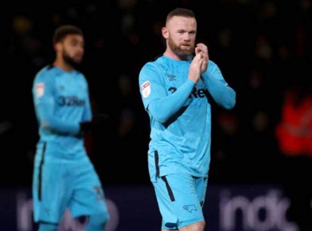 Wayne Rooney scored his first Derby goal... but the Rams were beaten by bottom side Luton  - Bóng Đá