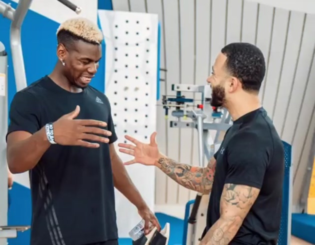Memphis Depay sends Manchester United midfielder Paul Pogba message following injury update - Bóng Đá