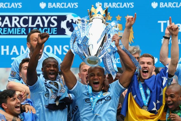 Manchester City's Premier League title in 2014 is now UNDER THREAT with potential backdated points deduction - Bóng Đá