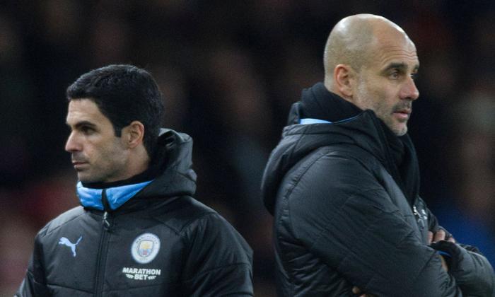Mikel Arteta reveals message to Pep Guardiola after Man City's Champions League ban - Bóng Đá