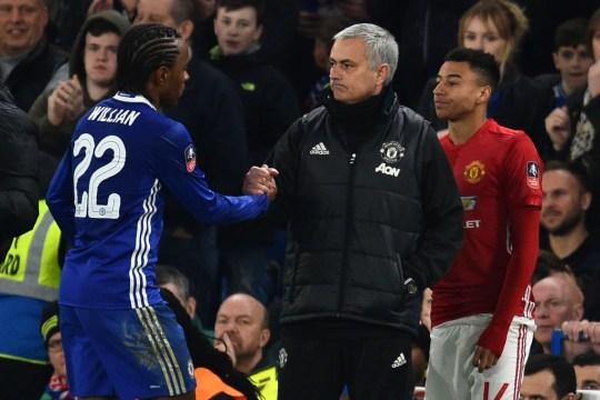 Willian heaps praise on Jose Mourinho  - Bóng Đá