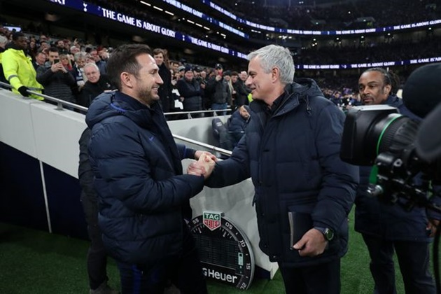 Frank Lampard explains how relationship with Jose Mourinho has changed - Bóng Đá