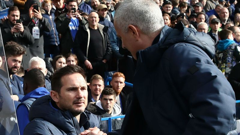 'That's the world we live in' - Lampard reacts to Mourinho claim that Chelsea game plan was leaked to him - Bóng Đá