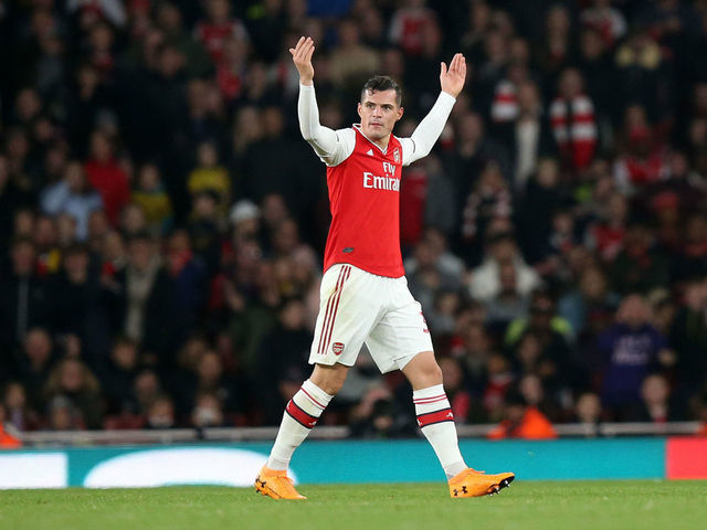 Granit Xhaka admits he would think twice if offered Arsenal captaincy again after fearing for club future - Bóng Đá
