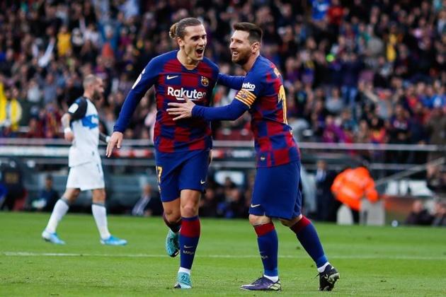 Real - Barca combined XI - Bó.ng Đá.