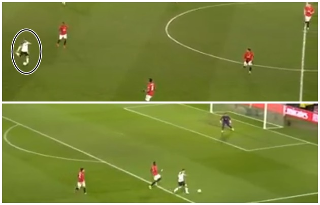 Video: Wayne Rooney shows he's still got it with wonderful 60-yard through ball to open up former club Man United - Bóng Đá