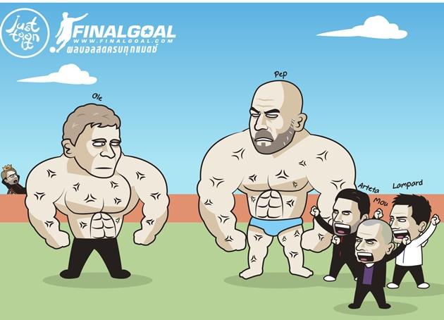 Ảnh chế Man Utd thắng Man City - Bóng Đá