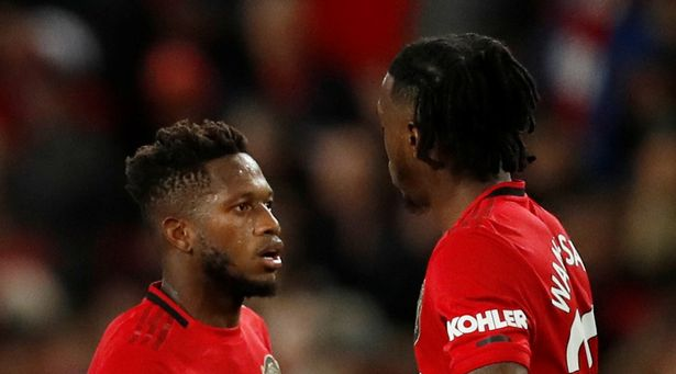 Fred and Aaron Wan-Bissaka were not allowed in Man Utd's changing room after derby win - test doping - Bóng Đá