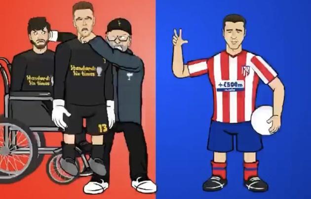 Ảnh chế Liverpool thua Atletico - Bóng Đá
