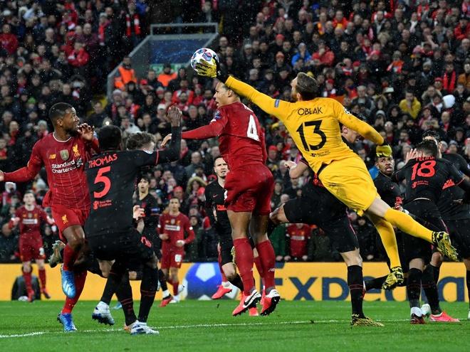 'We were outstanding for 95 minutes' - Van Dijk credits Oblak for ending Liverpool's Champions League hopes - Bóng Đá