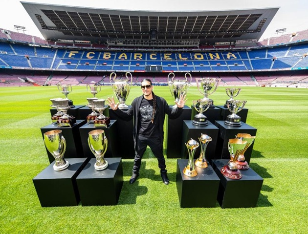 Players lack of game time and lots of trophies - Bóng Đá