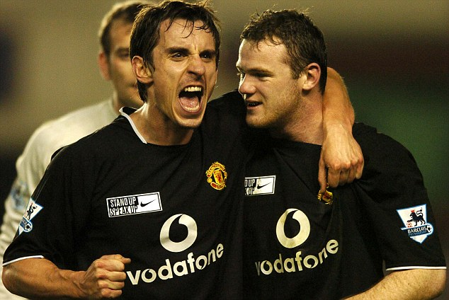 Gary Neville reveals conversation with Wayne Rooney after he asked to leave Manchester United   - Bóng Đá