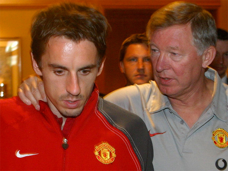 Gary Neville names Arsenal as the club he would have had joined had he left Manchester United  - Bóng Đá