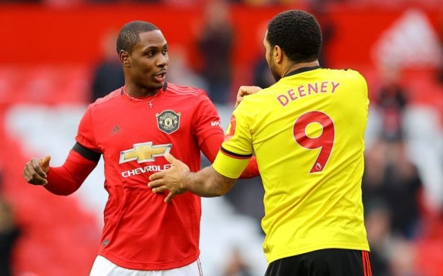 Troy Deeney 'lost his head' with Odion Ighalo in Manchester United clash and drove home alone from Old Trafford - Bóng Đá