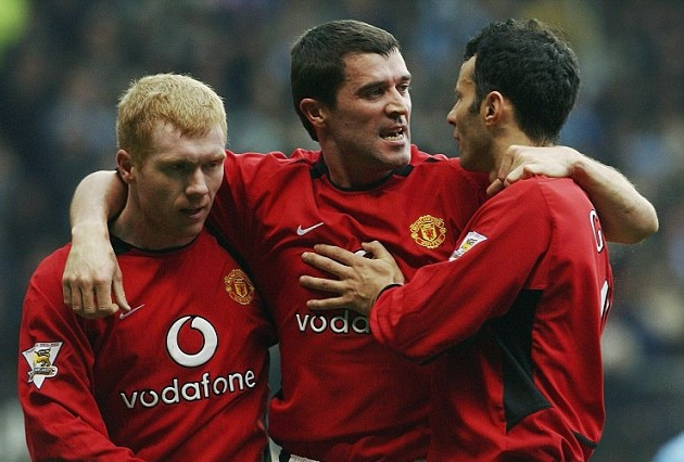 Ryan Giggs' top Man Utd team-mates of all time revealed including Scholes and Rooney but no Cristiano Ronaldo - Bóng Đá