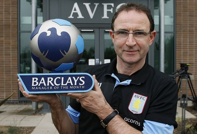 Managers with most Premier League of the month awards  - Bóng Đá