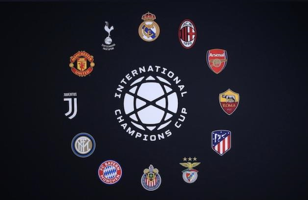 2020 Men's International Champions Cup cancelled due to coronavirus pandemic - Bóng Đá