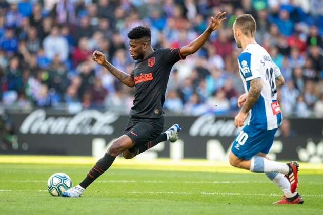 Arsenal transfer target Thomas Partey has best dribbling record in LaLiga ahead of Lionel Messi as top five revealed - Bóng Đá