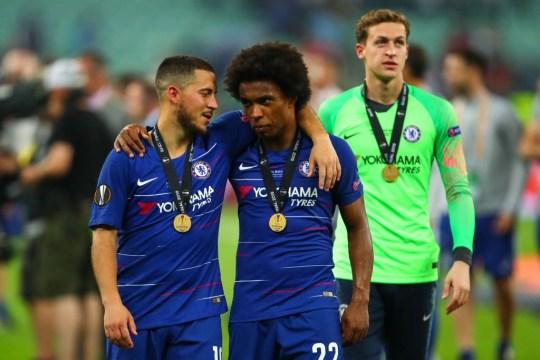 Willian hails 'annoying' Diego Costa but claims Eden Hazard was his funniest teammate at Chelsea   - Bóng Đá