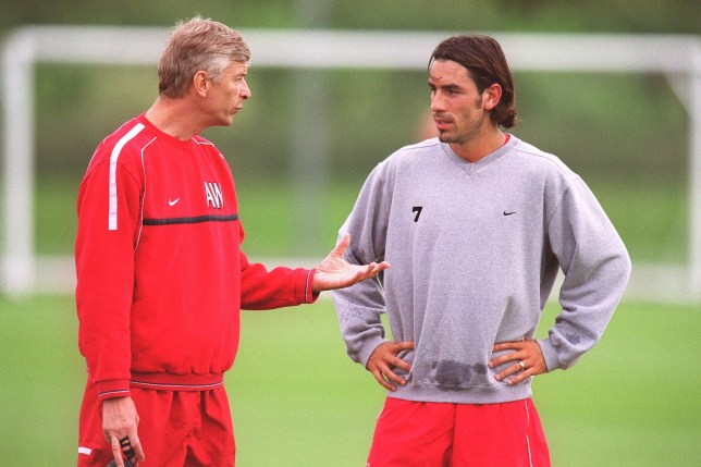 Ray Parlour reveals time Arsene Wenger stepped in to defend Robert Pires in Arsenal training   - Bóng Đá