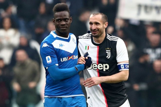 Balotelli is a negative person with no respect - Juventus defender Chiellini - Bóng Đá