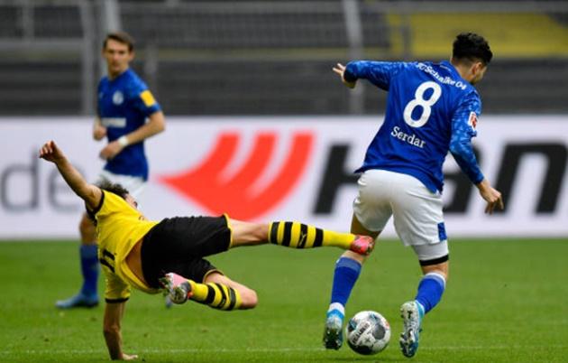 Ảnh sau trận Dortmund - Schalke - Bóng Đá