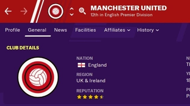 Manchester United sue Football Manager makers over image rights - Bóng Đá
