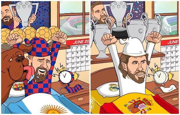 Ảnh chế La Liga trở lại - Bóng Đá