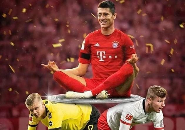 Ảnh chế Bayern vô địch Bundesliga - Bóng Đá