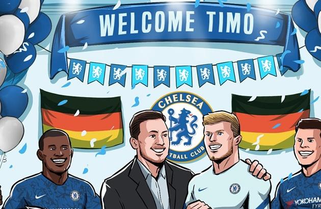 Cười vỡ bụng với loạt ảnh chế Chelsea mua Werner