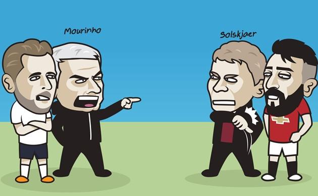 Cười té ghế với loạt ảnh chế Tottenham hòa Man United