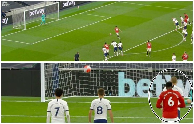Paul Pogba's reaction to Bruno Fernandes penalty shows what he really thinks about Man Utd - Bóng Đá