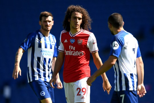 Mikel Arteta willing to sell Matteo Guendouzi after Arsenal star taunted Brighton players over their wages    - Bóng Đá