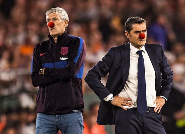 Ảnh chế Barca hòa Atletico - Bóng Đá