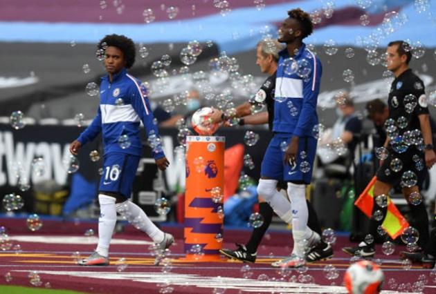 Ảnh Chelsea thua West Ham - Bóng Đá