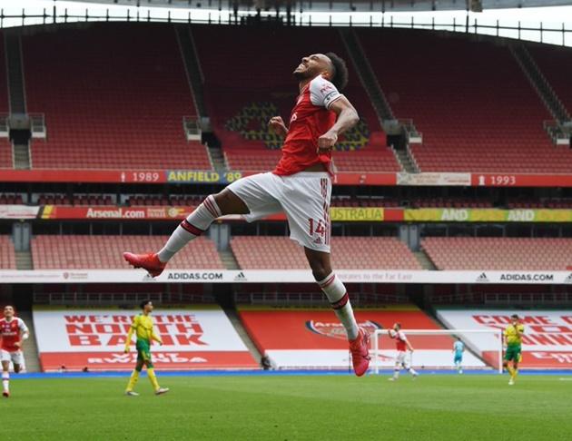 Mikel Arteta: Pierre-Emerick Aubameyang willing to stay at Arsenal - Bóng Đá