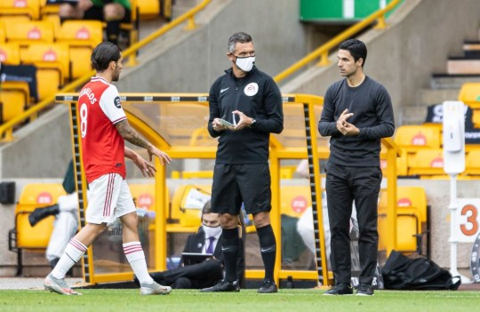 Mikel Arteta explains why he was constantly shouting at Dani Ceballos during Arsenal's win over Wolves    - Bóng Đá