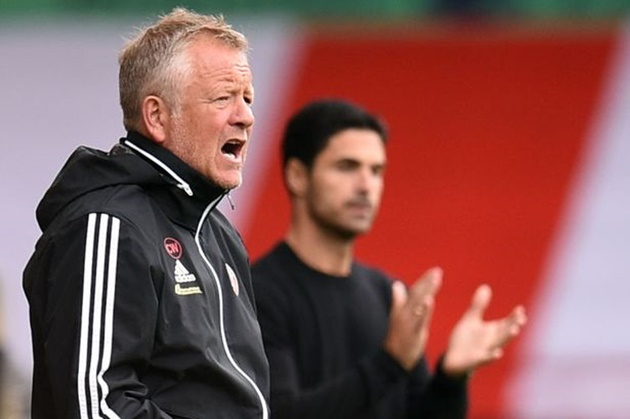 Chris Wilder accuses Mikel Arteta of breaking the rules after Arsenal beat Sheffield United   - Bóng Đá