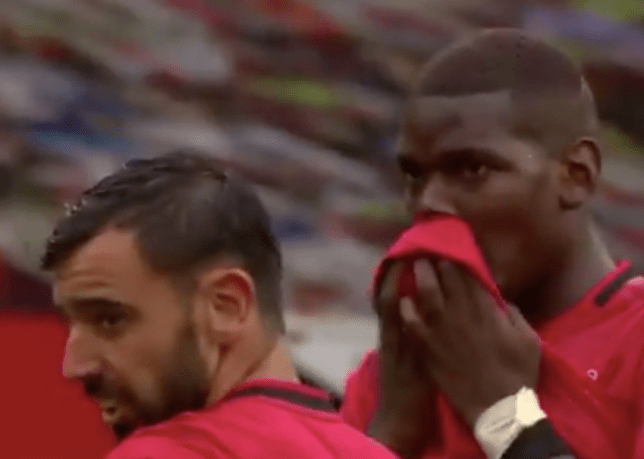 Bruno Fernandes reveals what Paul Pogba told him before his free-kick in Manchester United's win over Bournemouth   - Bóng Đá