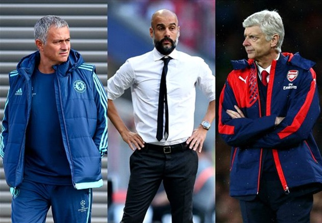 Cesc Fabregas compares playing under Arsene Wenger, Jose Mourinho and Pep Guardiola - Bóng Đá