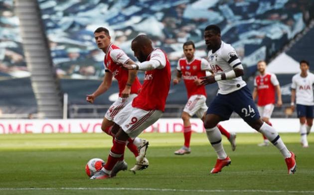 Ảnh Tottenham thắng Arsenal - Bóng Đá